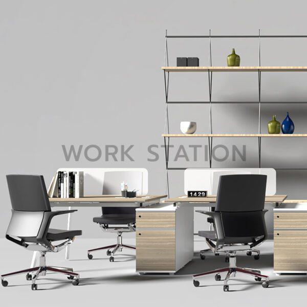 โต๊ะทำงานหลายที่นั่ง