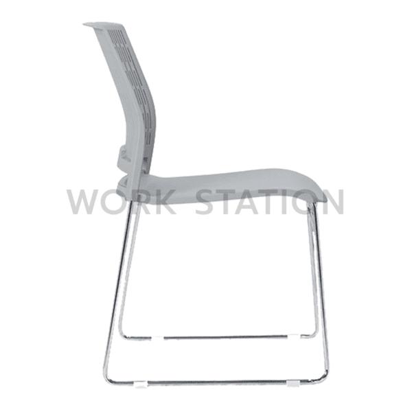 เก้าอี้เลคเชอร์ สีขาว
