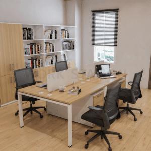 โต๊ะทำงาน พร้อมตู้