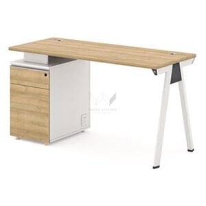 โต๊ะสำนักงานพร้อมตู้เอกสาร