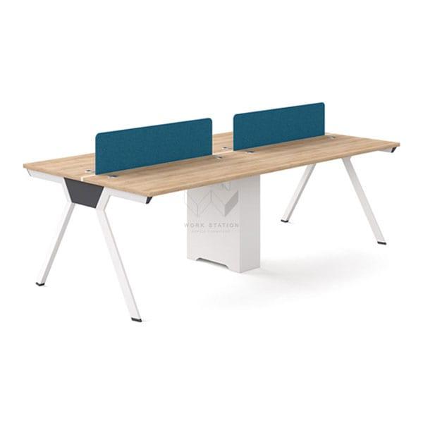 โต๊ะทำงานหลายที่นั่ง โต๊ะทำงานกลุ่ม 4-6 ที่นั่ง