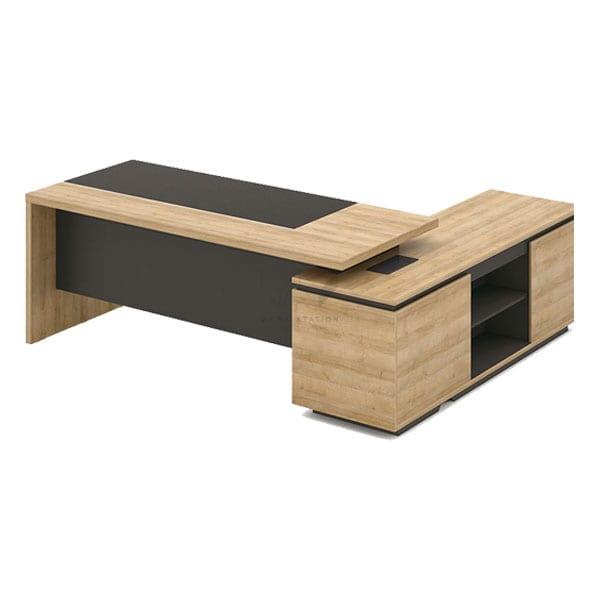 โต๊ะทำงาน สีทูโทน โต๊ะผู้บริหาร