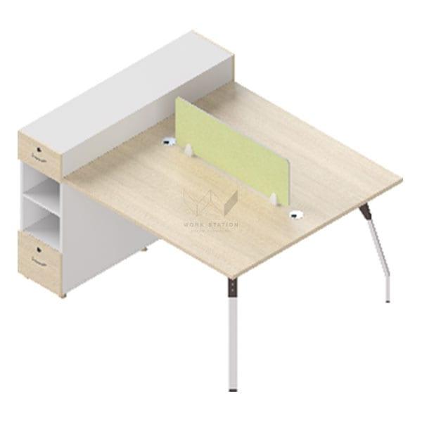 โต๊ะพร้อมตู้ลิ้นชัก