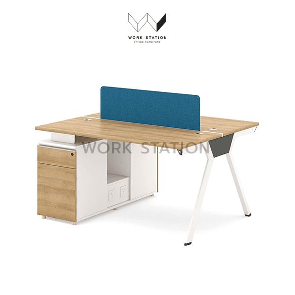 โต๊ะทำงานพร้อมตู้เอกสาร โต๊ะทำงาน