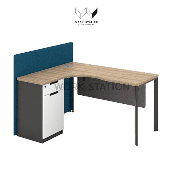 โต๊ะทำงานสวยๆ Acker executive desk 1.4m