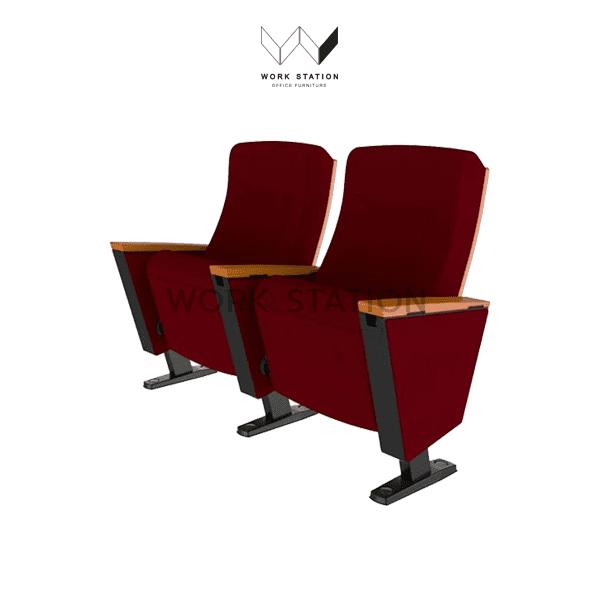 เก้าอี้หอประชุมหลายที่นั่ง
