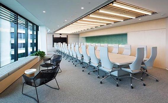 ห้องประชุม ตกแต่งห้องประชุมให้ดูเรียบง่าย และผ่อนคลาย