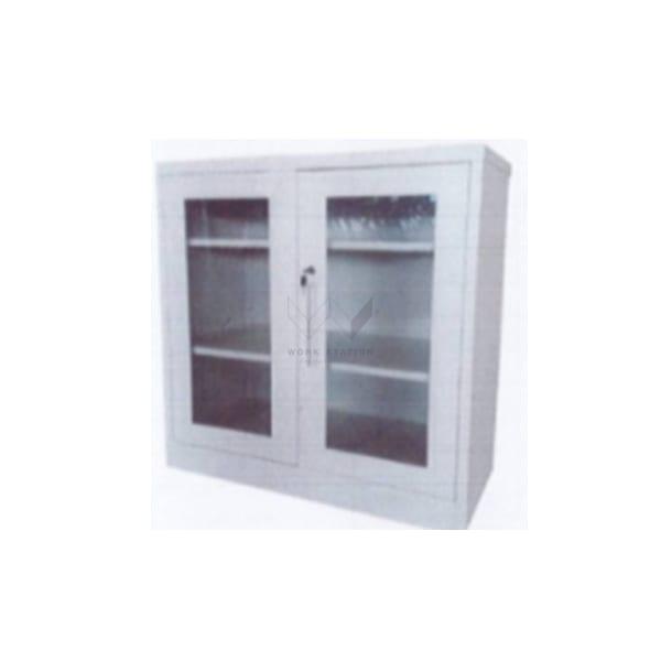 ตู้เหล็กบานกระจก 3 ชั้น