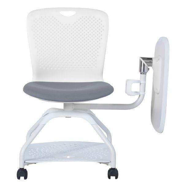 เก้าอี้เลคเชอร์สีขาว