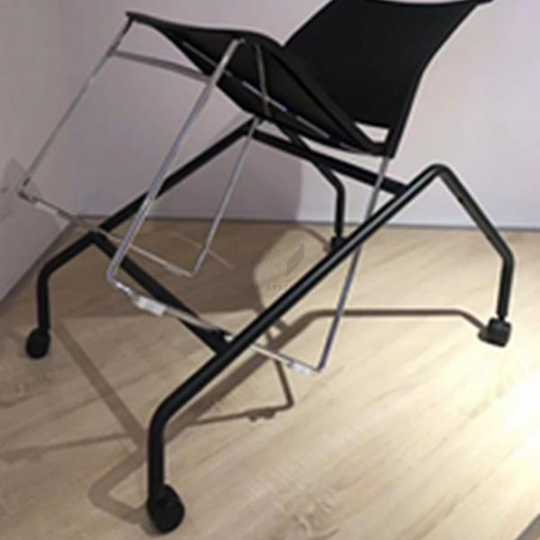 อุปกรณ์เก็บเก้าอี้ ซ้อนเก้าอี่ สีดำ