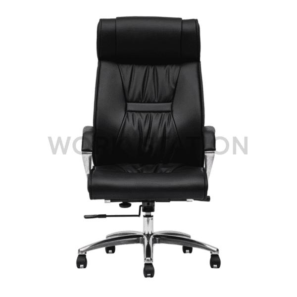 เก้าอี้ผู้บริหาร หุ้มหนังสีดำ รุ่น 010A