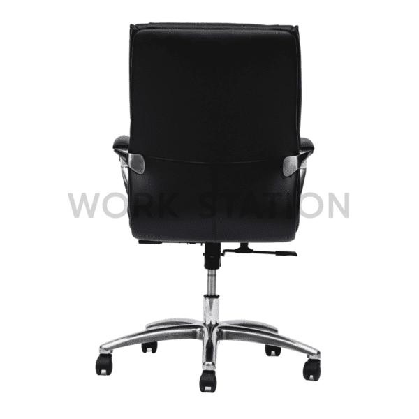 เก้าอี้สำนักงานสีดำ รุ่น 010B เก้าอี้หนัง เก้าอี้ผู้บริหาร