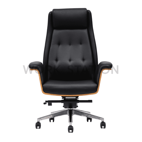 เก้าอี้ผูบริหาร เก้าอี้หนังสีดำ