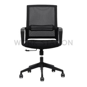 เก้าอี้สำนักงาน สีดำ รุ่น 191B