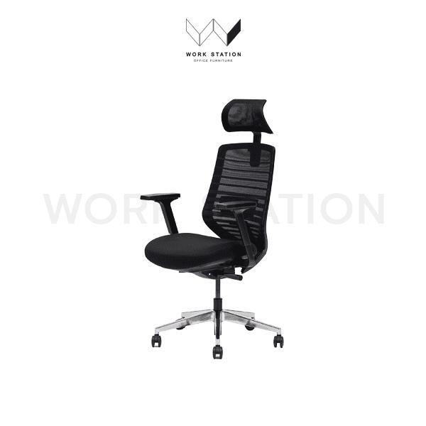 เก้าอี้พร้อมพนักพิงศีรษะ รุ่น 001A