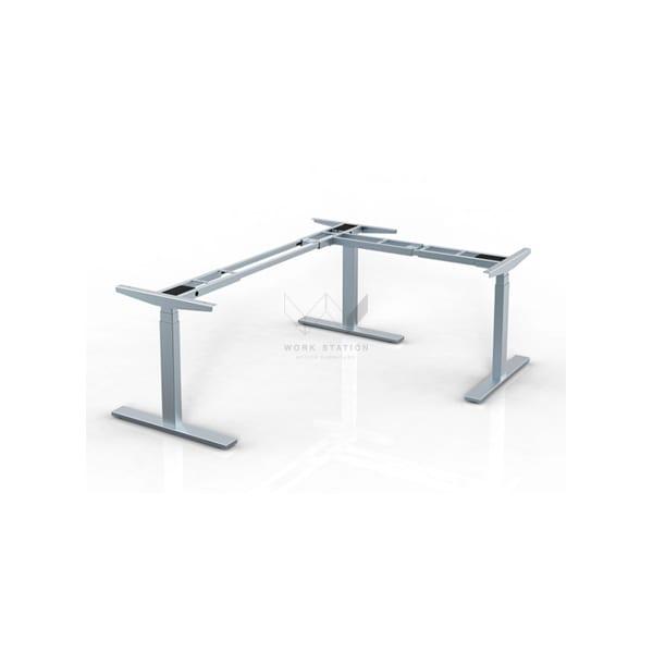 โต๊ะปรับระดับไฟฟ้าทรงตัวเอล