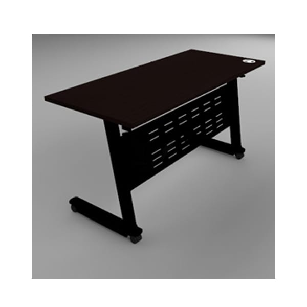 โต๊ะฝึกอบรม โต๊ะเทรนนิ่ง สีดำ