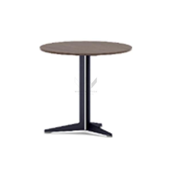 โต๊ะประชุมขนาดเล็ก Small Meeting Table ขาเดี่ยว รุ่น WS-WH-27EKB004