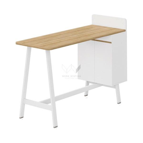 โต๊ะประชุม Meeting Desk สี European Oak (1.6m)
