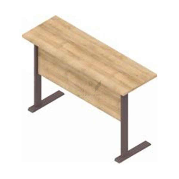 โต๊ะทำงาน โต๊ะอบรม พร้อมแผ่นกันโป๊