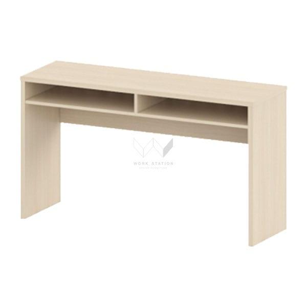 โต๊ะอบรม สี European Oka 2 ลื้นชัก