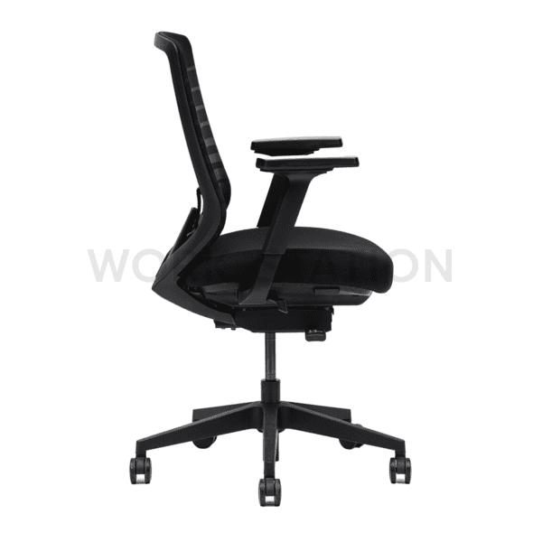 เก้าอี้สีดำ เก้าอี้สำนักงานและเฟอร์นิเจอร์